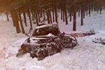Mazda 626 и Fiat Bravo столкнулись под Речицей