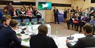 Пресс-конференция по детскому вокальному конкурсу НТВ Ты супер!