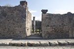 Руины города Помпеи