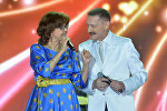 Певцы Александр Тиханович и Ядвига Поплавская