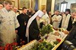 Митрополит Филарет попрощался с Тихановичем