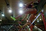 Легкая атлетика. Забег на 60 м с барьерами