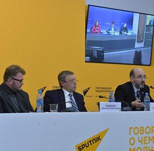 Видеомост Москва – Минск на тему: Безвизовый режим для иностранцев в Беларуси: вызовы для России?