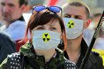 Шествие белорусской оппозиции, посвященное годовщине аварии на Чернобыльской АЭС