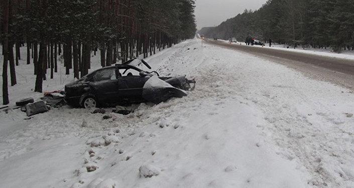 ВРечицком районе вДТП погибли трое мужчин