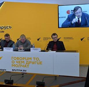Видеомост Минск - Киев, посвященный прогнозу развития торгово-экономических отношений между Беларусью и Украиной на 2017 год