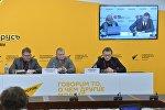 Видеомост Минск - Киев, посвященный прогнозу развития торгово-экономического развития отношений между Беларусью и Украиной на 2017 год