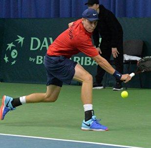 Белорусский теннисист Илья Ивашко