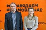Сергей Речкин и Дарья Остроголовая