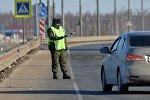 Работа сотрудников ФСБ на белорусско-российской границе