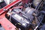 Автомобильный аккумулятор, архивное фото