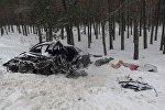 Последствия аварии в Речицком районе