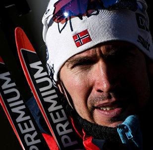 Биатлонист Эмиль Хегле Свендсен (Норвегия)