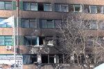 Кадры с места убийства командира батальона ополченцев ДНР Гиви