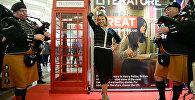Амбасадар Вялікабрытаніі станцавала пад валынку на кніжнай выставе