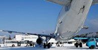 Аэропорт Одессы зимой, архивное фото