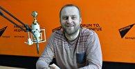 Лидер группы J: Морс Владимир Пугач в студии радио Sputnik Беларусь