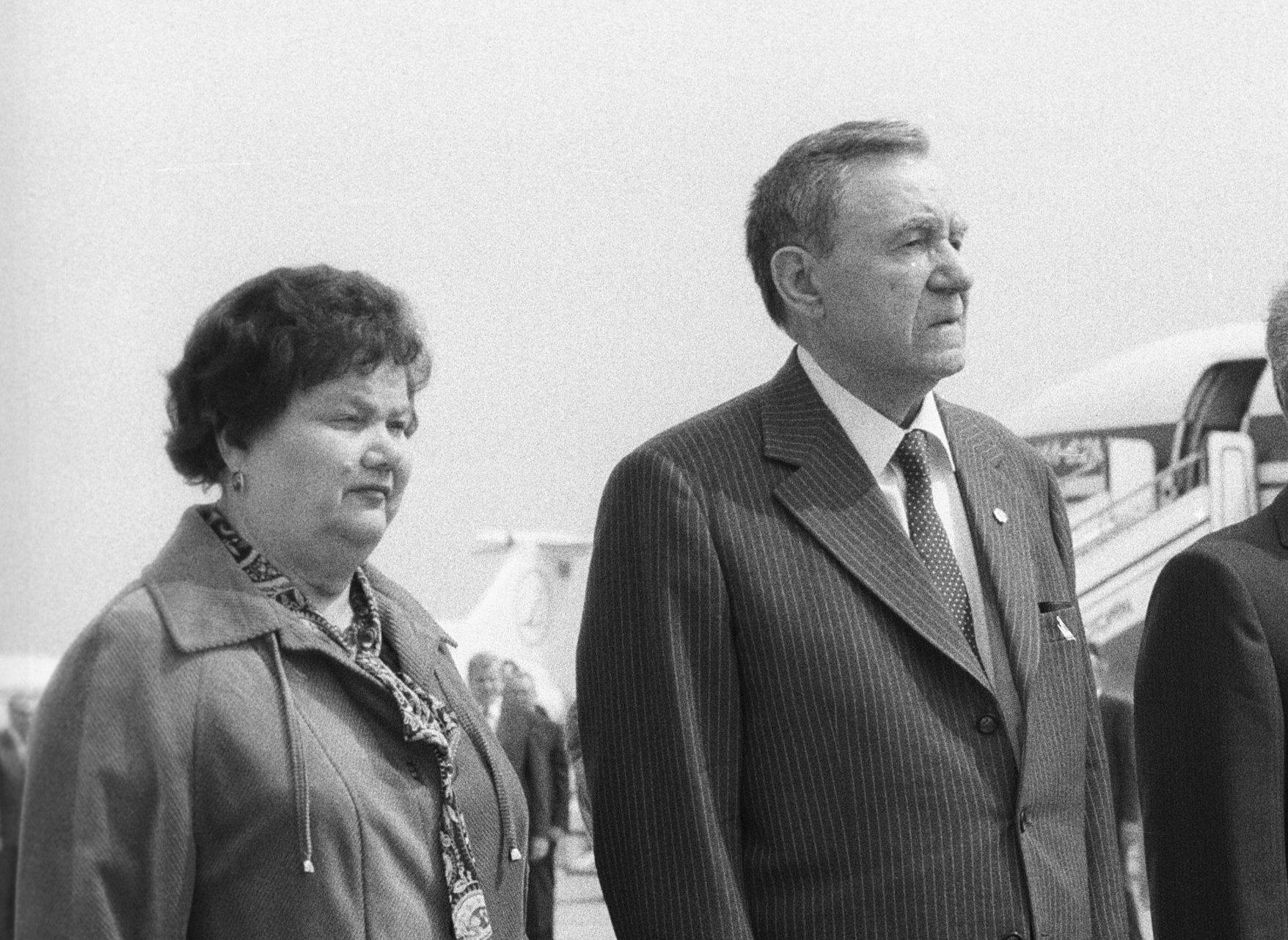 Супруги Громыко в любви, согласии и полном взаимопонимании прожили более 55 лет