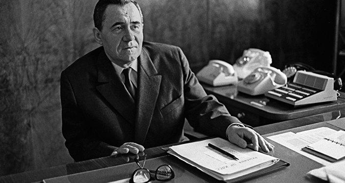Міністр замежных спраў СССР, член Палітбюро ЦК КПСС Андрэй Андрэевіч Грамыка