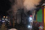 Пожар в деревне Вендорож