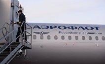 Капитан рейса авиакомпании Аэрофлот