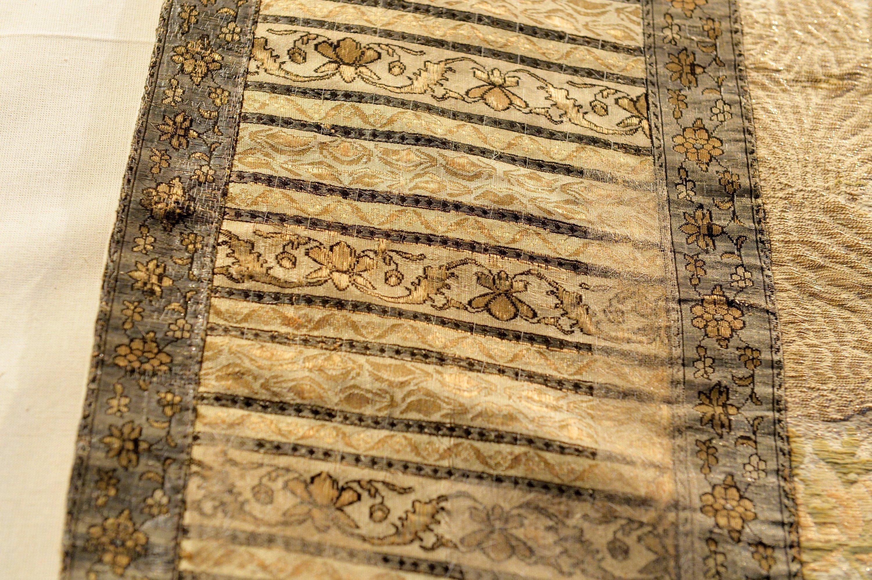 Фрагмент восстановленного орната со слуцким поясом