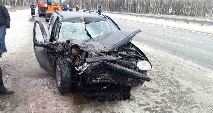 Нетрезвый ребенок разбился намашине под Оршей, умер один пассажир