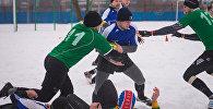 Соревнования по снежному регби прошли в Минске