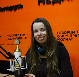 Корреспондент агентства Sputnik Беларусь Елена Васильева