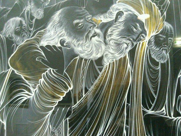 Графіка Базаргі  Бехзад. Сучаснае выяўленчае мастацтва. Іран