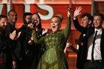 Певица Адель на вручении премии Грэмми