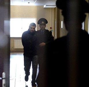 Обвиняемый в убийстве жены Андрей Тиханков