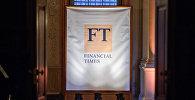 Баннер газеты Financial Times