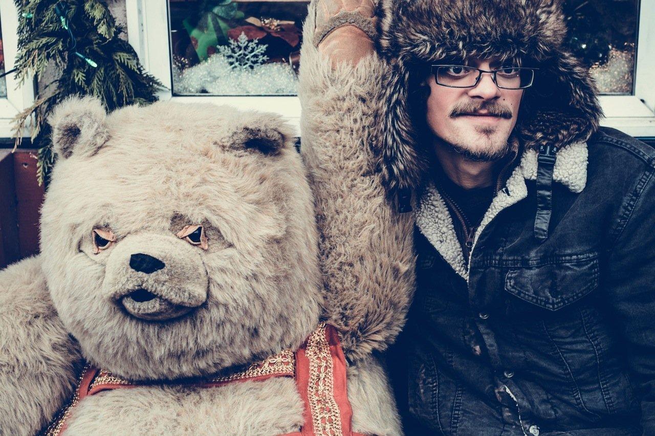 Медведь на день святого Валентина