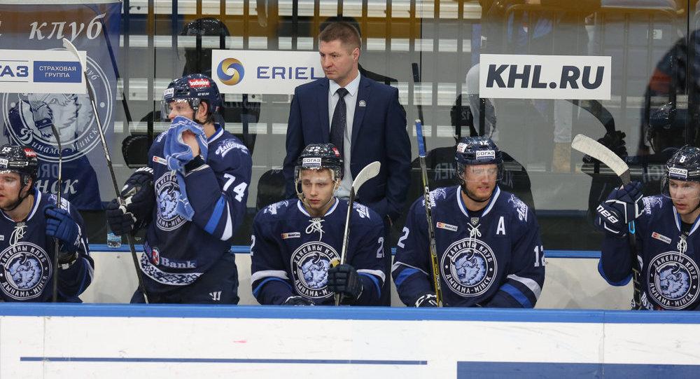 «Лада» вМинске пропустила восемь шайб от«Динамо»