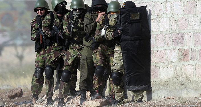 Учения ОДКБ Нерушимое братство - 2015 в Армении