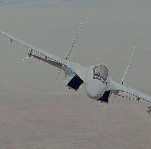 Сверхманевренный истребитель Су-35С
