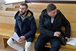 Гражданин РФ Тимофей Ермаков в зале суда Ленинского района Минска