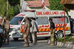 Машина скорой помощи в Пакистане, архивное фото