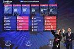 Жеребьевка участников полуфиналов Евровидения-2017