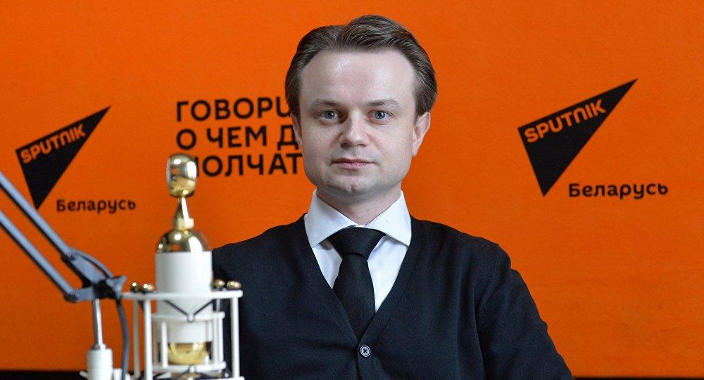 Редактор информагентства Sputnik Беларусь Станислав Андросик