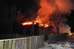 Пожар в Мозырском районе
