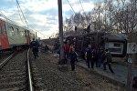 Крушение поезда в Бельгии