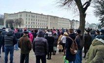 Митинг нетунеядцев в Бресте
