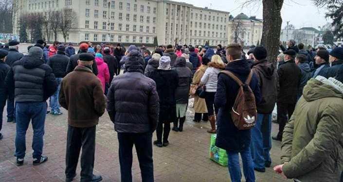 Граждане  Гродно присоединились кпротестам против декрета о«тунеядцах»
