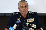Глава национальной полиции Малайзии Ноор Рашид Ибрагим