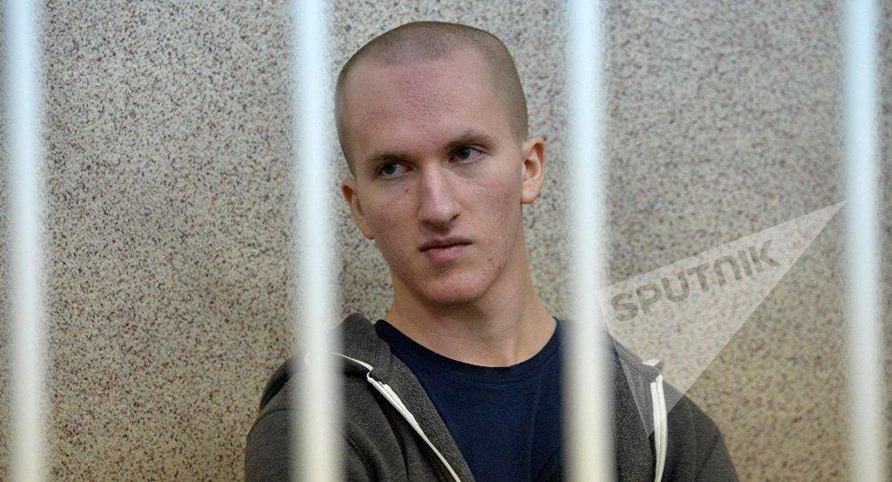 Обвиняемый Владислав Казакевич на судебном заседании