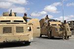 Автомобили сирийской правительственной армии, архивное фото