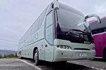 Туристический автобус, архивное фото