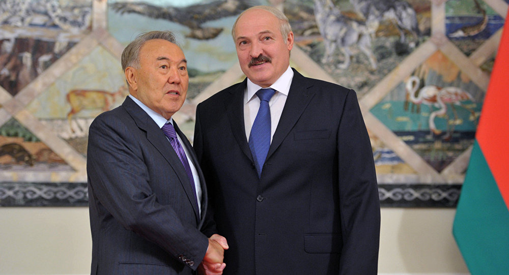 Президенты Беларуссии иКазахстана обсудили втелефонном разговоре ситуацию вЕАЭС